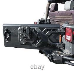 07-17 Jeep Wrangler Smittybilts Pivot Heavy Duty Oversized Tire Carrier $450