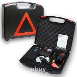 12800mAh Heavy Duty Emergency Vehicle Jump Starter Tire Compressor Power Bank