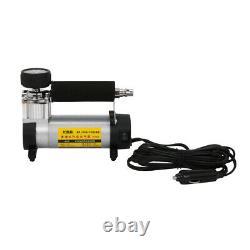12V 100PSI Air Compressor Heavy Duty Electric Car Tyre Inflator Auto Tire Pump