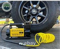 12V Heavy Duty Portable Air Compressor 120 PSI Car Tires, Truck, RV, Trailers