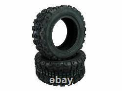 (2) 18x8.50-10 Kenda K502 Terra Trac Heavy Duty 4 Ply Tires