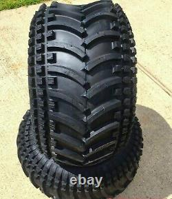 2 22x11.00-10 4 Ply ATV Wooly Booger Striker Tubeless Tires Heavy Duty