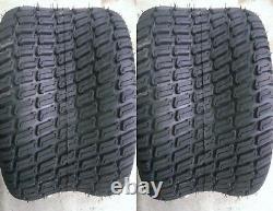 2- 23X9.50-12 6P HEAVY DUTY Deestone D838 Turf Master style Turf Tires PAIR FREE