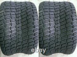 2 24/12.00-12 6 Ply HEAVY DUTY Deestone D838 turf master Mower Tire 24/12-12