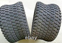 2 24/12.00-12 HEAVY DUTY 8 Ply Kenda K500 Super Turf Mower Tires 24/12-12 Lawn