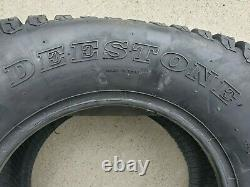 2 24x12.00-12 6 Ply HEAVY DUTY Deestone D838 turf master Mower Tire 24x12-12