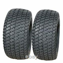 2 26x12.00-12 Turf Lawn Mower Tires Heavy Duty Two New Tires 26 1200 12