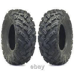 (2) 27X9-12 MUD LUG HP009 ATV Tires HEAVY DUTY pair of ATV TIRES
