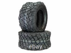 (2) 4 Ply Reaper K3012 Heavy Duty Tires 23x10.50-12