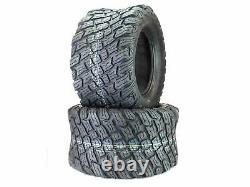(2) 4 Ply Reaper K3012 Heavy Duty Tires 24x12.00-12
