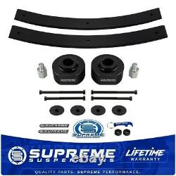 2 Front + 2 Rear Lift Kit Add-A-Leaf 3/4 Stud Extenders For 81-96 Ford F150