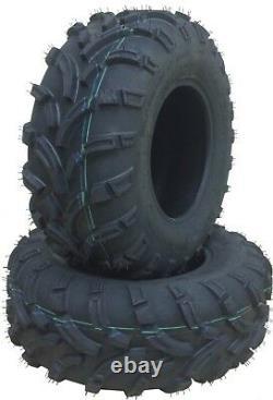 2 New WANDA ATV UTV Tires 25x11-12 25x11x12 P373A 6PR High Load 10210 Heavy Duty