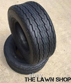 (2) Two 16.5x6.50-8 Boat Camper Trailer Tubeless Tires Heavy Duty 16.5 6.50 8