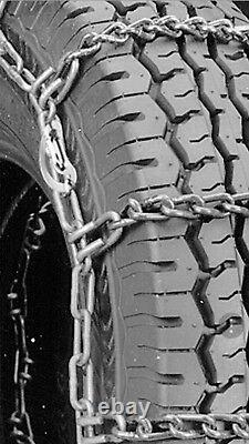 225/70R19.5 WRECKER SPECIAL 7mmCOMMERCIAL CAM Snow Tire Chains 245-5