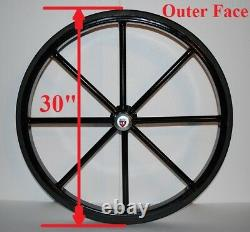 30 Pair of Solid Rubber Tires for Horse cart