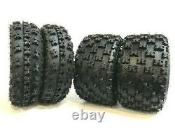 4 New ATV Tires AT 23x7-10 Front & 22x10-10 Rear 6PR- GNCC Race Style Heavy Duty