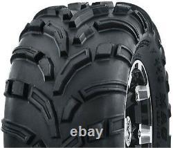 4 New ATV UTV Tires 25x10-12 Front 25x11-12 Rear 6PR Mud High Load Heavy Duty