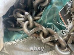 8mmUSA LT285/75R16 V-BARCOMMERCIALTIRE CHAINS +2 cross chains 9-3