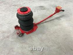 Auto Body Tire shop Triple Bag Air Go Jack 6600 LBS Quick Lift Heavy Duty HAWAII