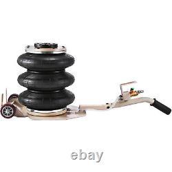 Auto Body Tire shop Triple Bag Air Jack 6600 LBS Quick Lift Heavy Duty Jack 2Pcs