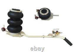Auto shop Tire Shop Triple Bag Air Jack 6600 LBS Quick Lift Heavy Duty Jacking