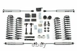 BDS 3 Lift Kit With NX2 Shocks For 2012-2018 Jeep Wrangler JK 2 Door 4WD