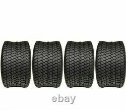 Four New 20x10.00-8 Mower Tire Heavy Duty Commercial Mower 20x10-8 4Ply Tubeless