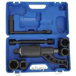 Hand Torque Multiplier Truck Rim Tire Trailer Lug Nut Changing Wrench Tool Kit