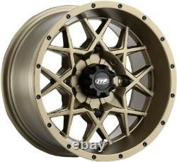ITP Tires Heavy-Duty Hurricane UTV Wheel 14x7-5+2 Offset 4/110 Bronze