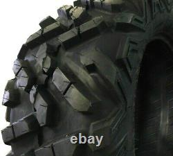K9 Heeler Two 27x9-14 Two 27x11-14 A/T ATV UTV Tires 6 PR Four Tires Heavy Duty