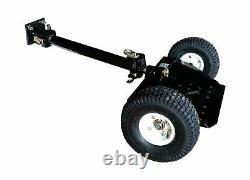 Mower Sulky TS2000N Two Wheel Heavy Duty Steel Pneumatic Tires Black Finish New