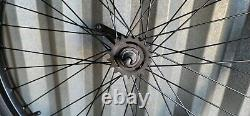 New 26'' X 2.125 Heavy Duty Blk Bicycle Rims N Tires Cruiser, Chopper, Lowrider