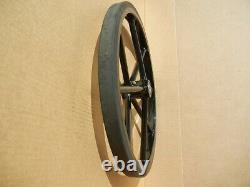 Pair Horse Carriage Solid Rubber Tires for Mini or Small Pony Cart-21 Inches