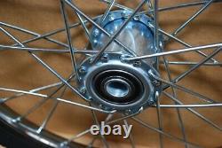 Pair Horse Cart Heavy Duty Bike tires 20x2.125/3/4Axle, 3Hub withRoll Bearings