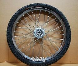 Pair Horse Cart Heavy Duty Bike tires 20x2.125/5/8Axle, 3Hub withRoll Bearings