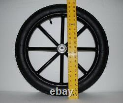 Pair Horse Cart Motorcycle Tire and Rim 2.50-16, 5/8 or 3/4 Axle NIB