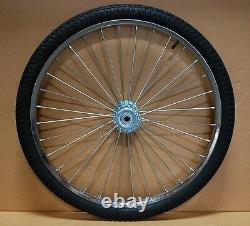 Pair Horse Cart Wheels/Tires 26x2.125-5/8Axle, 4 Hubs