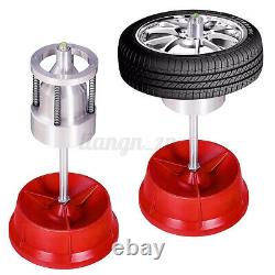 Portable Hubs Wheel Balancer With Bubble Level Heavy Duty Rim Tire for Cars Truck