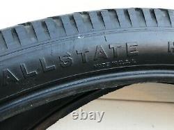 Prewar Original Allstate Heavy Duty Balloon Tire 26 X 2.125 With Inner Tubes