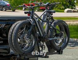 Rambo Fat Tire E-bike Heavy Duty 2 Bike Hitch Hauler Foldable