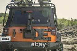 Rugged Ridge 11546.50 Spartacus Heavy Duty Tire Carrier Kit for Jeep Wrangler JK