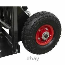 Sealey CST989HD Heavy-Duty 3-in-1 Sack Truck with PU Tyres 300kg Capacity