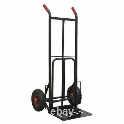 Sealey Heavy-Duty Sack Truck with PU Tyres 300kg Capacity CST990HD