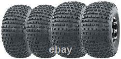 Set 4 ATV tires 20x7-8 20x7x8 Front & 22x11-8 22x11x8 Rear Heavy Duty 4PR