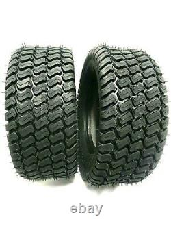 Set TWO 16x7.50-8 Lawn Tractor 4 Ply Heavy Duty 16x7.50-8 NHS