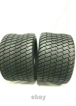 Set TWO -23x10.50-12 Lawn Mower Tractor Tire Heavy Duty 23x10.50-12 NHS