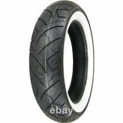 Shinko F777 MT90-16 130/90-16 Front Wide White Wall Tire Harley Heavy Duty WWW