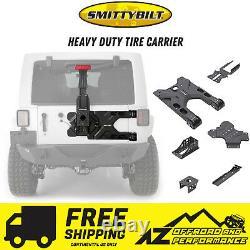 Smittybilt 07-18 Jeep Wrangler Heavy Duty Tire Carrier FREE SHIPPING