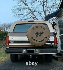 SpareCover ABC Series FORD BRONCO 33 TAN Heavy Duty Vinyl Tire Cover