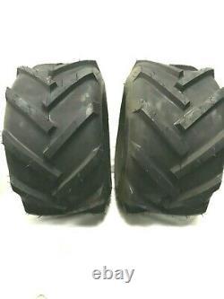 TWO- 18x9.50-8 Heavy Duty Tires Lug AG PAIR 18x9.5-8 18 950 8 Free Ship